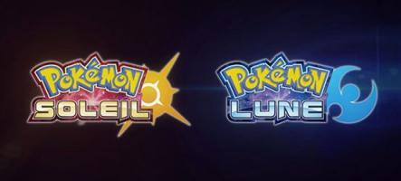 Pokémon Soleil et Lune : 7 nouveaux Pokémons dévoilés