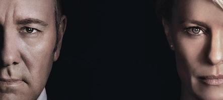 Concours : Gagnez 5 coffrets Blu-ray de House of Cards Saison 4 !