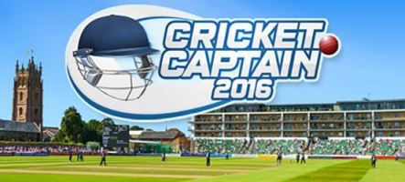 Cricket Captain 2016 est disponible