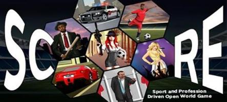 Score : mélange de monde ouvert et jeu de foot...