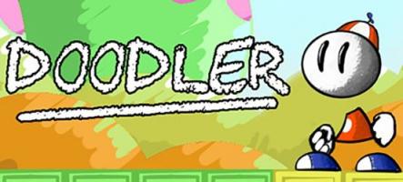 Doodler : un petit jeu de plateformes tout mignon
