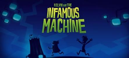 Kelvin and the Infamous Machine : Comme un petit goût de Day of the Tentacle ?