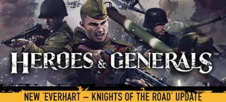 Heroes & Generals franchit la barre des 8 millions de joueurs