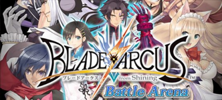 Blade Arcus from Shining: Battle Arena, fantasy nippone