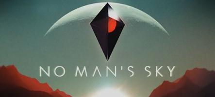 No Man's Sky est disponible et sa bande-annonce est jolie