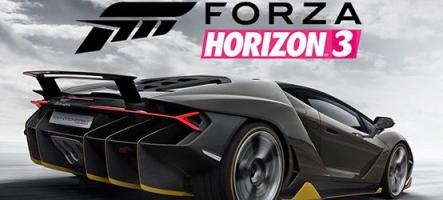 Forza Horizon 3 en 4K, ca dépote