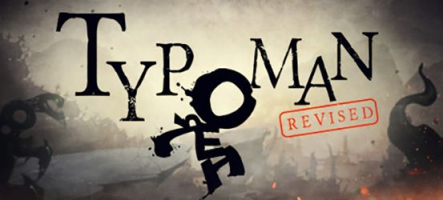 Typoman: Revised, un homme de lettres