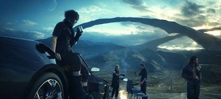 Final Fantasy XV dévoile une vidéo exceptionnelle