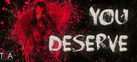 You Deserve : un jeu d'horreur espagnol