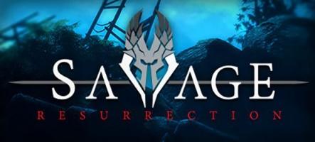 Savage Resurrection, un jeu multijoueur sous Unreal 4
