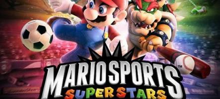 Mario Sports Superstars annoncé sur 3DS