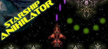 Starship Annihilator : Shoot'em up à l'ancienne