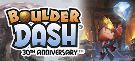 Boulder Dash - 30th Anniversary est disponible