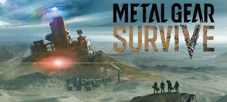 Metal Gear Survive en présentation samedi