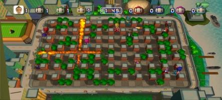 Bomberman revient sur le Live
