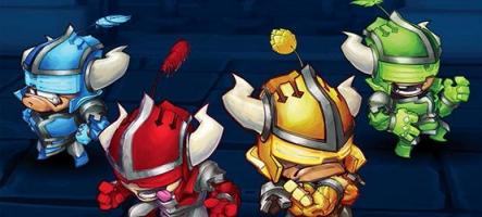 Super Dungeon Bros : monstres et hard rock