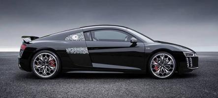 Mondial de l'Auto : Une Audi R8 aux couleurs de Final Fantasy