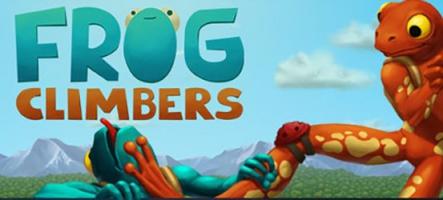 Frog Climbers : escalade de grenouilles