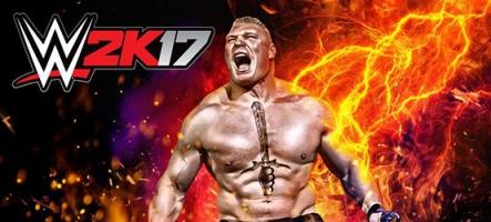 WWE 2K17 : Tu aimes les hommes en slip ?