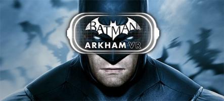 Batman Arkham VR se lance en vidéo
