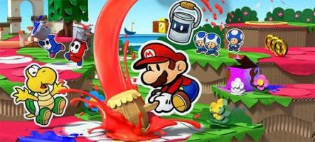 (TEST) Paper Mario : Color Splash (Nintendo Wii U)