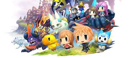World of Final Fantasy : La démo jouable est disponible