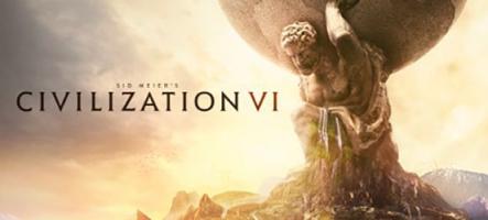 Sid Meier's Civilization VI débarque vendredi