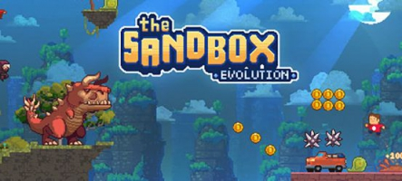 The Sandbox Evolution - Craft a 2D Pixel Universe!, un jeu de création