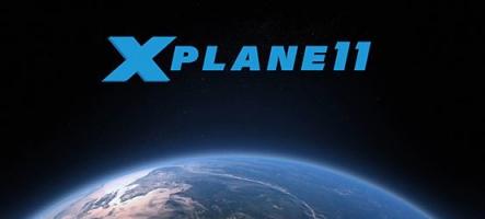X-Plane 11 en démo et en bêta !