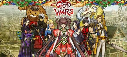 God Wars : Un RPG tactique dans les légendes du Japon