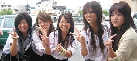 Les japonaises et les consoles de jeux