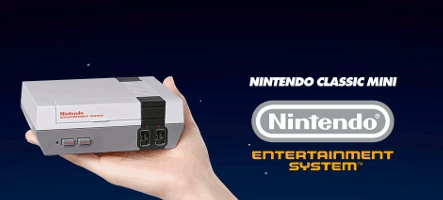 Nintendo NES Classic Mini : la console est à nouveau disponible !