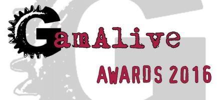 GamAlive Video Games Awards 2016 : VOTEZ !