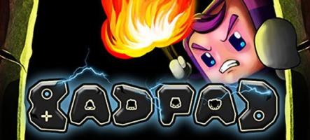 Bad Pad : un jeu de plateformes à l'ancienne