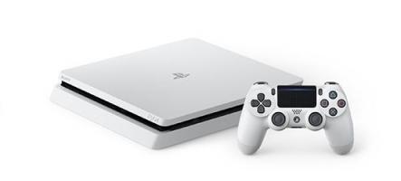 La PS4 Slim débarque en blanc