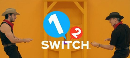 Nintendo Switch : 28 mini-jeux inclus dans 1-2 Switch