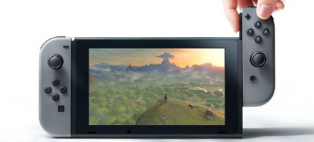 L'interface de la Nintendo Switch fuite sur le net