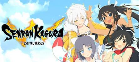 Senran Kagura Estival Versus : un jeu de combat avec des gros nichons