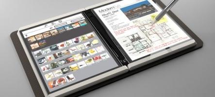 Microsoft dévoile Courier, sa tablette graphique