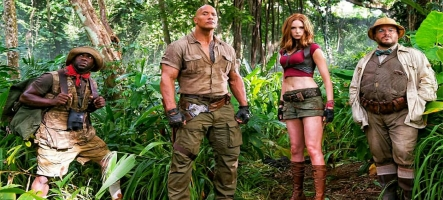 Jumanji 2 : Welcome to the Jungle s'offre des bandes annonces