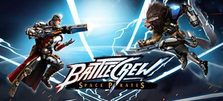 BATTLECREW Space Pirates est disponible