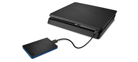 (TEST) Seagate Game Drive 2 To for PS4