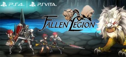 Fallen Legion : le jeu PS Vita offert en bonus de précommande sur PS4
