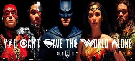 La Justice League s'offre une nouvelle bande annonce