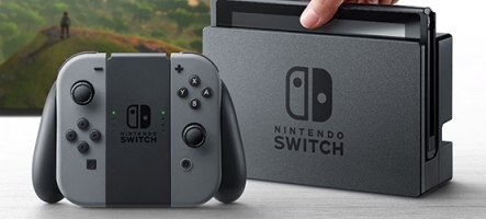 Nintendo Switch : 4,7 millions d'unités vendues