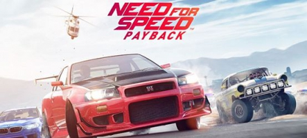 Need for Speed Payback : personnalisez vos voitures