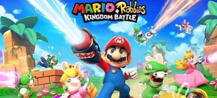 Mario + The Lapins Cretins se la jouent Fantôme de l'Opébwaaah