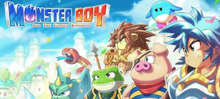 Monster Boy and the Cursed Kingdom sort sur Nintendo Switch