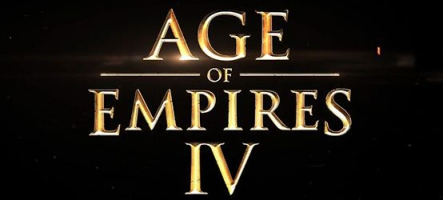 Age of Empire IV en développement