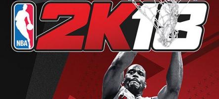 NBA 2K18 : les plus grandes stars de l'Histoire du basket au rendez-vous